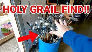We Found Our HOLY GRAIL GOLF CLUB at a THRIFT STORE!! (Channel Update!)