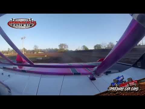 #09HER Angela Sopha - Sharp Mini Late Model - 4-20-19 Springfield Raceway - In Car Camera