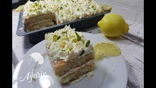 Pişirmeye Gerek Kalmayan 15 dakikada hazirlaybileceginiz ferahlatici  Limonlu Tiramisu tarifi