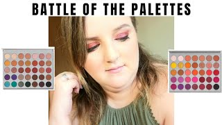 BATTLE OF THE PALETTES | Jaclyn Hill 1 VS | Inspired by Allie Dawson