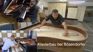 Klavierbau bei Bösendorfer – ganze Doku