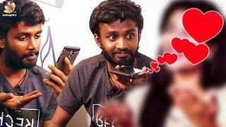 KPY Dheena's Prank Call Turns To Love Call | Darshan, Keerthi Pandian |Thumbaa Team Interview