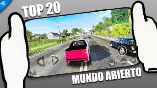 Top 20 Juegos Para Android Andamp Ios De Mundo Abierto Sandbox  Yes Droid
