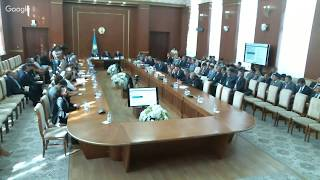 Сессия в Карагандинском областном маслихате