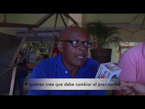 A QUIEN CONSIDERA DEBE CAMBIAR EL PRESIDENTE
