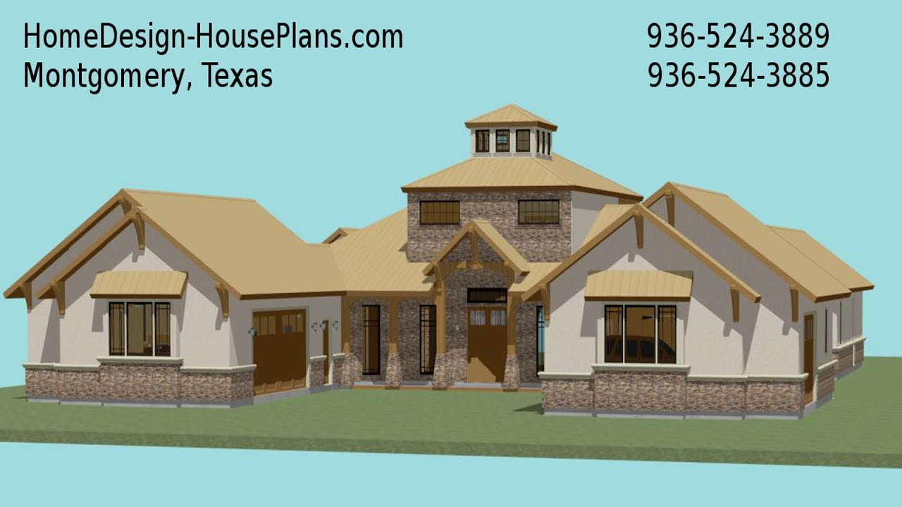 Houston Tx Custom Home Designer Custom House Plans - YouTube