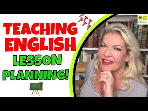 TEACHING ENGLISH LESSON PLANS │ LESSON PLANNING ESL