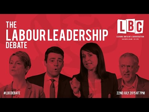 LBC Labour Leadership Debate: Welfare, Tony Blair, and Nigel Farage (Part 1)
