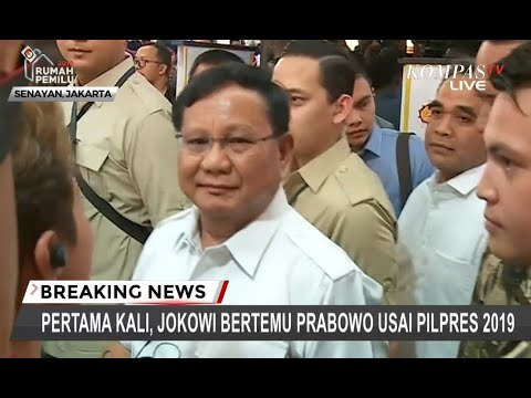 Usai Makan Siang, Prabowo Langsung Tinggalkan FX Sudirman