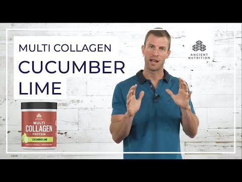 Multi Collagen Protein Cucumber Lime | Ancient Nutrition