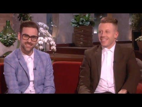 Macklemore & Ryan Lewis Talk Grammys & Madonna on Ellen Show