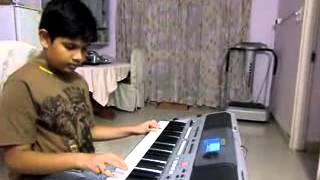 maa tujhe salam a r rehman vandemataram on keyboard by n.likhit krishna