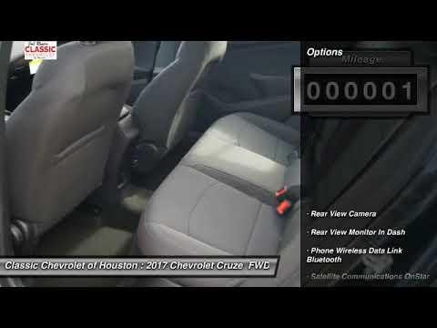2017 Chevrolet Cruze Houston TX, Katy TX, Sugar Land TX HS538625