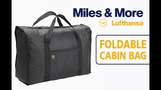 Foldable Cabin bag from Lufthansa Miles & More