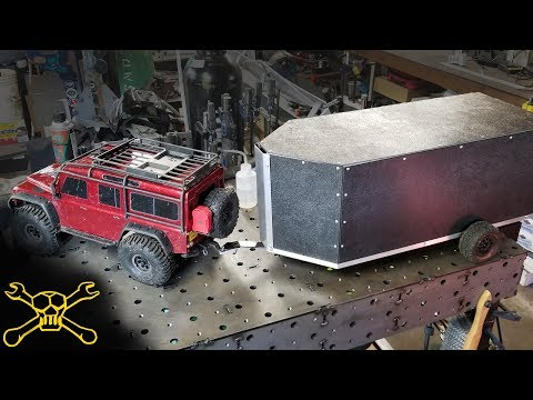 How To Build An RC Car Trailer