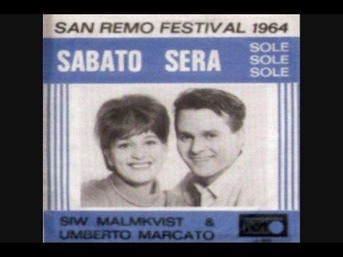 Siw Malmkvist & Umberto Marcato - Sole Sole Sole (1964)