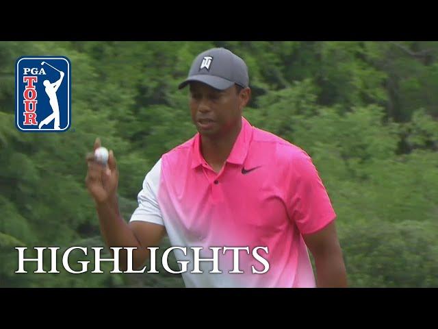 Tiger Woods Higlights | Round 3 | Wells Fargo