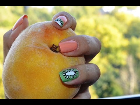 Ногти с фруктами фото 2017. Маникюр с фруктами