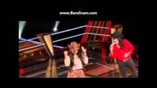 Maria Jose Blanco vs Jessy Miranda Lobos-#AjustandoCuentas-Batallas La Voz México-20 de Octubre 2013