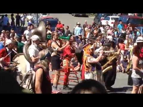 Fremont Solstice Parade 2014 in  Fremont WA