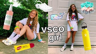 becoming the ultimate VSCO girl