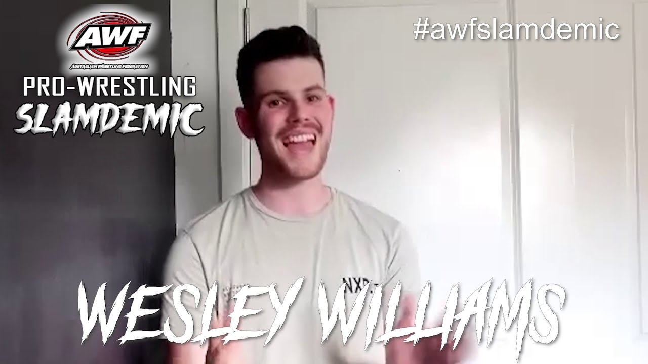 Wesley Williams rebuttal to Akell re their upcoming bout at AWF Pro-Wrestling Slamdemic