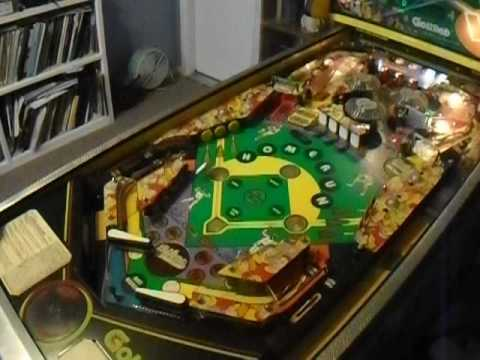 1990 Gottlieb Silver Slugger Pinball Machine Gameplay Video - Canon City Pinball