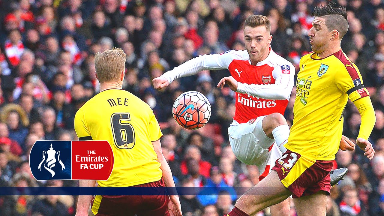 Arsenal 2-1 Burnley - Emirates FA Cup 2015/16 (R4) | Goals & Highlights