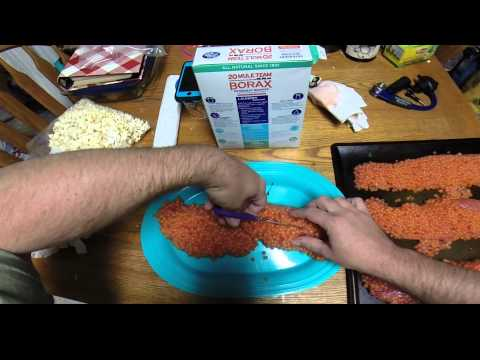Borax Salmon Egg Curing Video