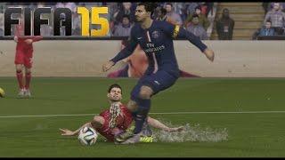 FIFA 15 en PS4  Gameplay - PSG Vs Liverpool , Probando la dificultad legendario y la lluvia