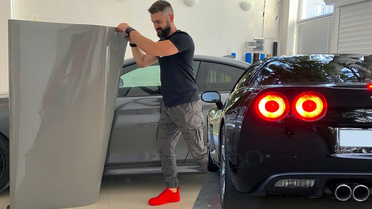 BMW კოპარტიდან #5 – ვუცვლით ფერს, ვაკრავთ ფირს! ახალი პროექტი?