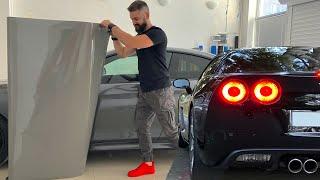 BMW კოპარტიდან #5 - ვუცვლით ფერს, ვაკრავთ ფირს! ახალი პროექტი?