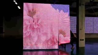 Гибкий светодиодный экран с шагом 12,5мм.(Тонкий, легкий и невероятно красивый!, 2013-12-04T10:40:20.000Z)