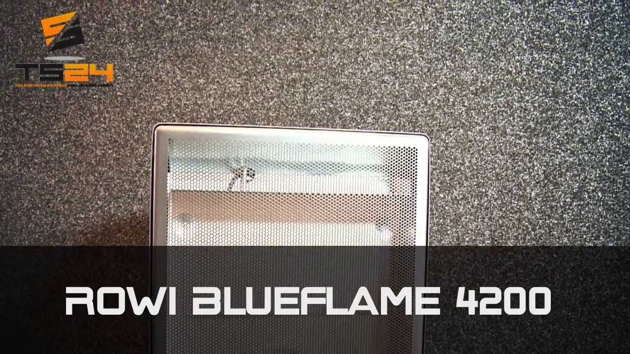 Wonderbaarlijk Rowi Blueflame 4200 watt Mobiele Gaskachel met Thermostaat - YouTube PI-12