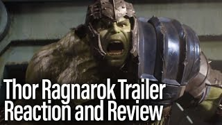 Thor Ragnarok Trailer Reaction and Review