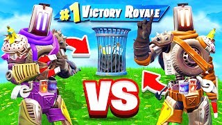 TRASH WARS *NEW* Game Mode in Fortnite Battle Royale