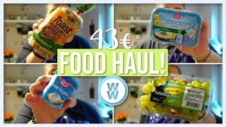 43€ FOOD HAUL!🥦🌽 | Gesunde Gerichte für eine Woche | Weight Watchers | Vanessa Nicole