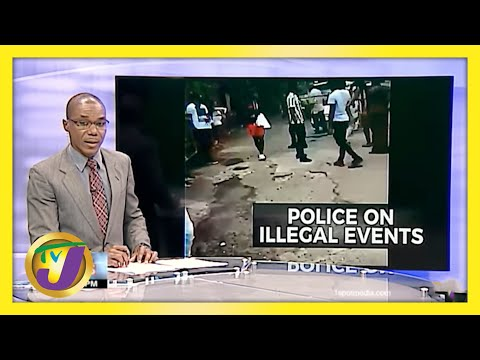Jamaican Police Remain Resolute Against Illegal Parties | TVJ News