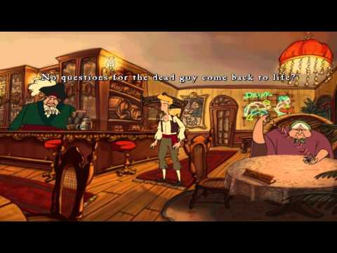 Curse of Monkey Island Playthrough - Chapter 4 - Part 3 (Goodsoup Family) |