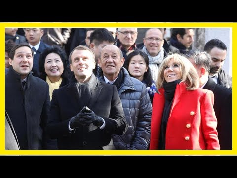 TODAY NEWS - Frances Macron looks to woo China with Airbus jets and ... a horse