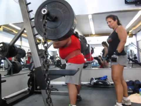 Pat Susco RAW Safety Bar Squat in Gotham City Gym