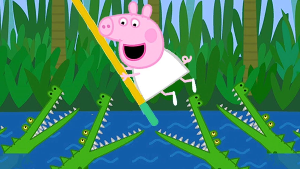 Peppa Pig Official Channel Peppa Pig And Super Hero Pedro Youtube