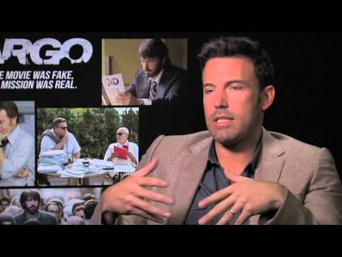 Argo - Ben Affleck interview (2012) GEWINNER BEST PICTURE !!! Oscars 2013