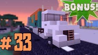 видео: Minecraft - как построить мусоровозку? (Bonus #33)