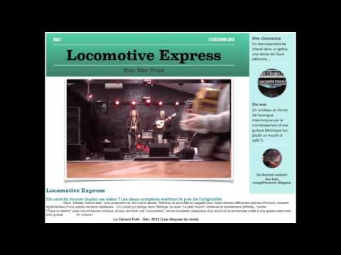 Galop / Presse (Locomotive Express)