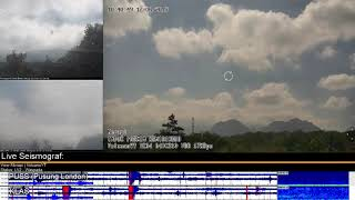 12/6/2019 - Mt Merapi TimeLapse