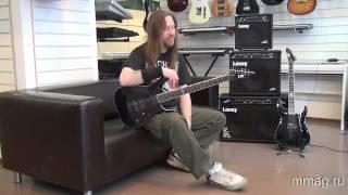 mmag.ru: гитары ESP--LTD и комбики Laney видео обзор