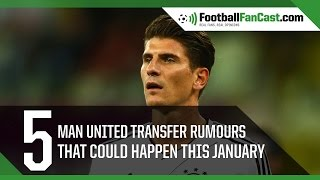 Top Manchester United transfer targets – Harry Kane and Mario Gomez   www.footballfancast.com