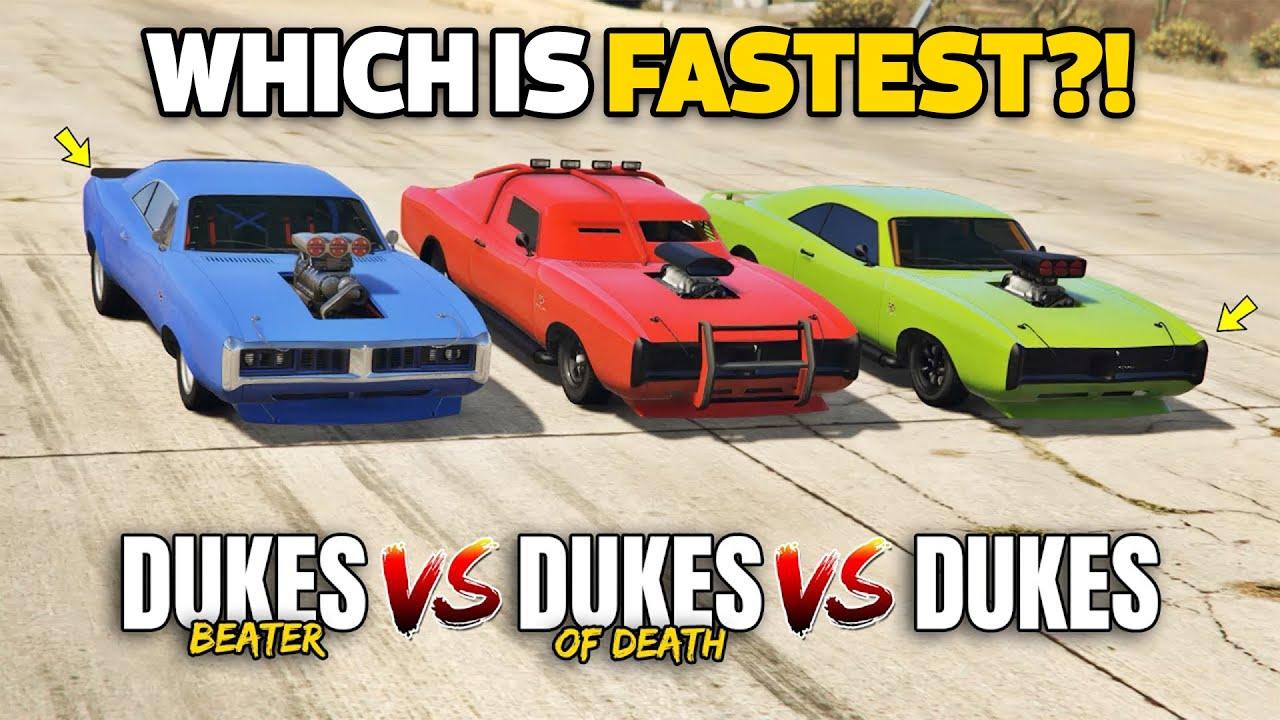 GTA 5 Online: BEATER DUKES VS DUKES VS ARMORED DUKES (WHICH IS BEST DUKES?)