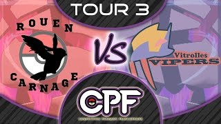 [CPF semaine 3] RouenCarnage (Smashou) vs Vitrolles Vipers (Chris)